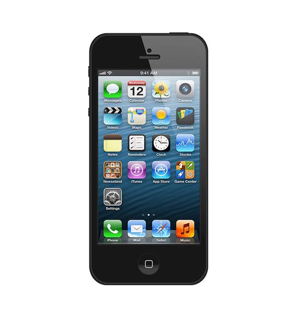iPhone 5 16GB Black / Черный 1