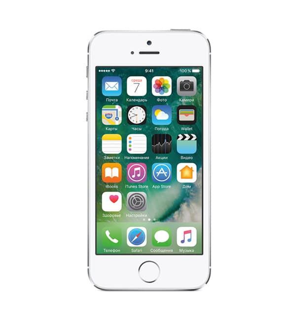 iPhone 5s 16GB Silver / Серебристый 1