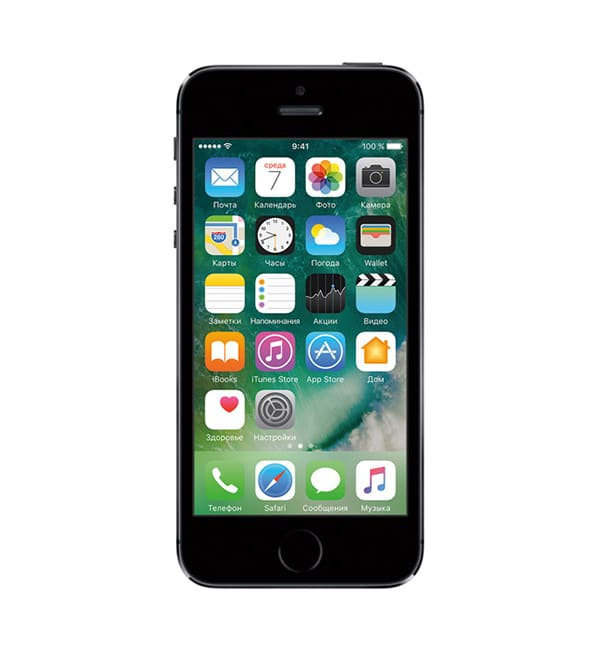 iPhone 5s 32GB Space Gray / Серый космос 1